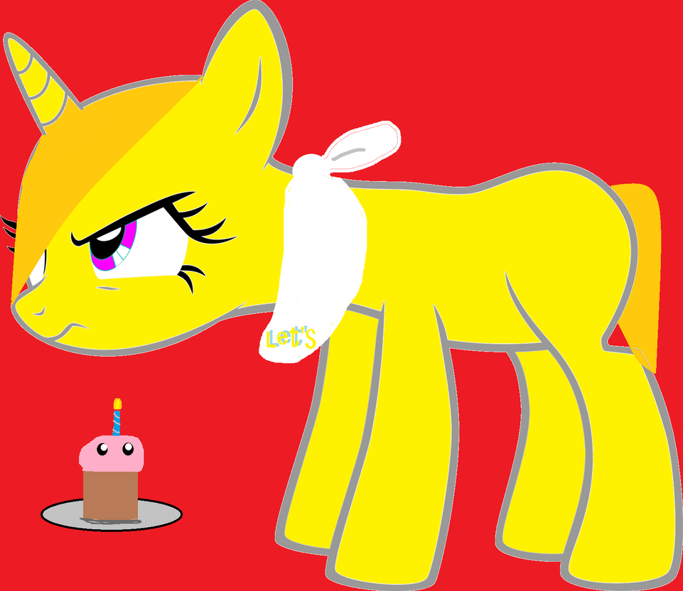 Chica fnaf my little pony don t touch my cupcake by freddyandfoxy on