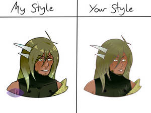 GaIaxy Style V My Style (they look so similar omg)