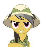 My name is Daring Do! by baerin