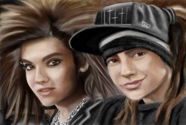 Tokio Hotel by BleedingHearts37