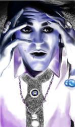 Davey Havok (Blue) by BleedingHearts37