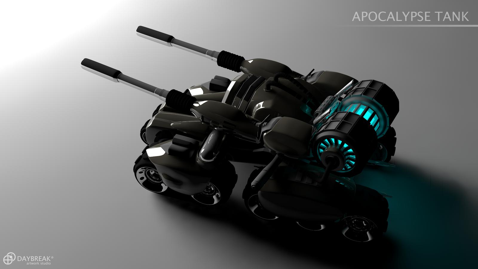 Apocalypse Tank By Daybreak Asterisk