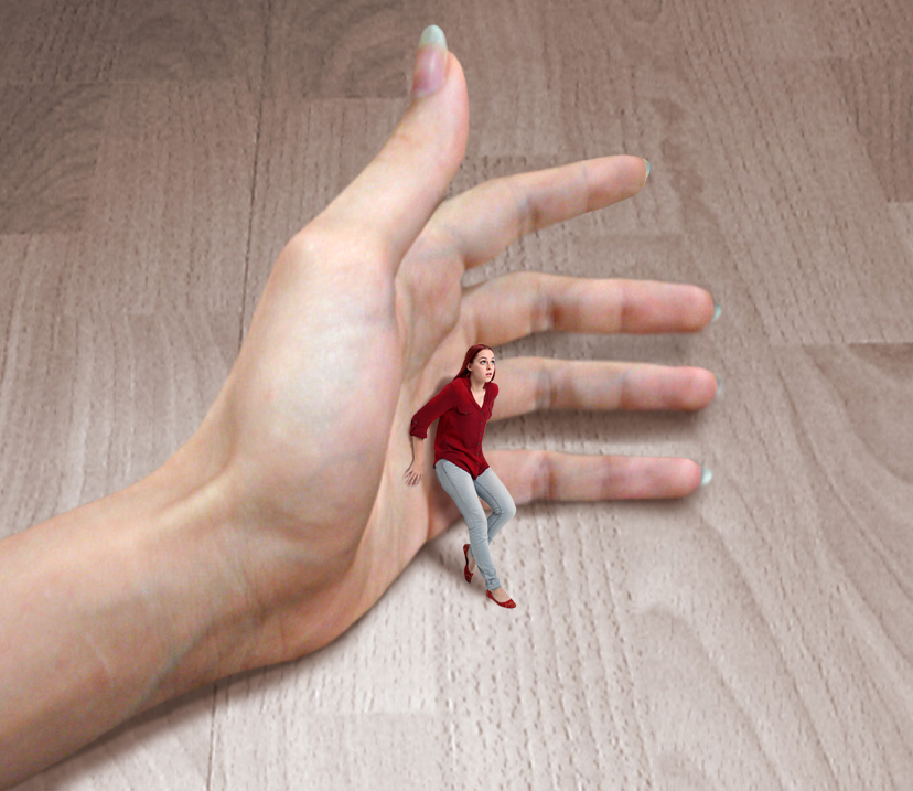 Cariwebo105 Gts Hand With 1-24th Scale woman by Cariwebo