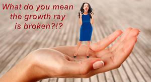 Growth Ray Broken