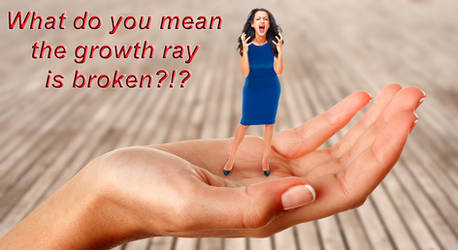 Growth Ray Broken by Cariwebo