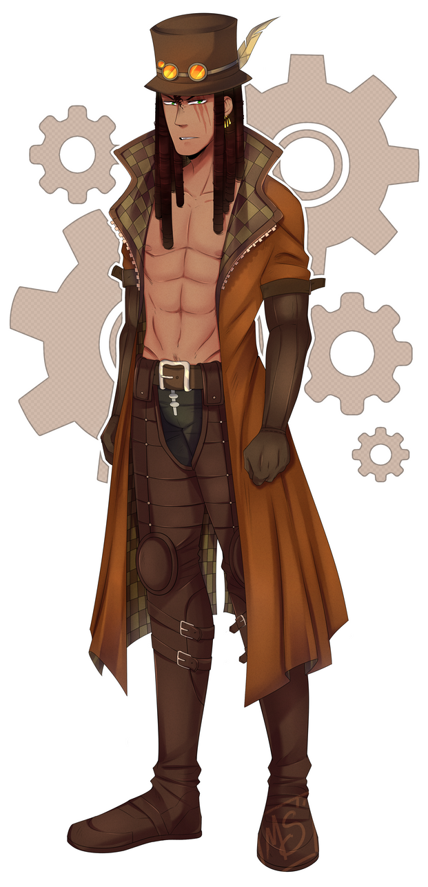 Tobias outfits steampunk by MarshMellow-Cookies