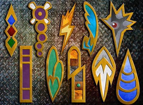 Unova Badges by TheAngryAron