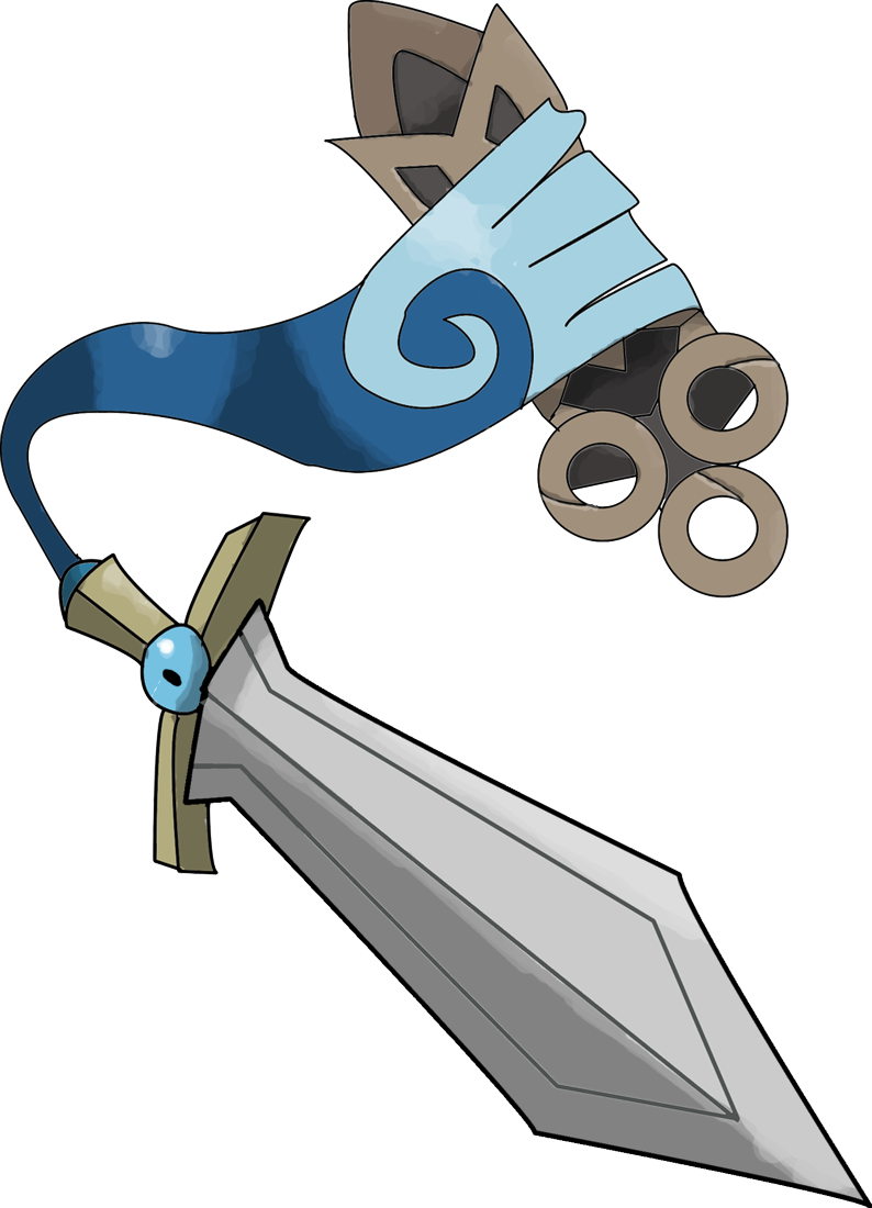 Attack On Titan Pokemon Doublade Honedge  Unsheathed Version