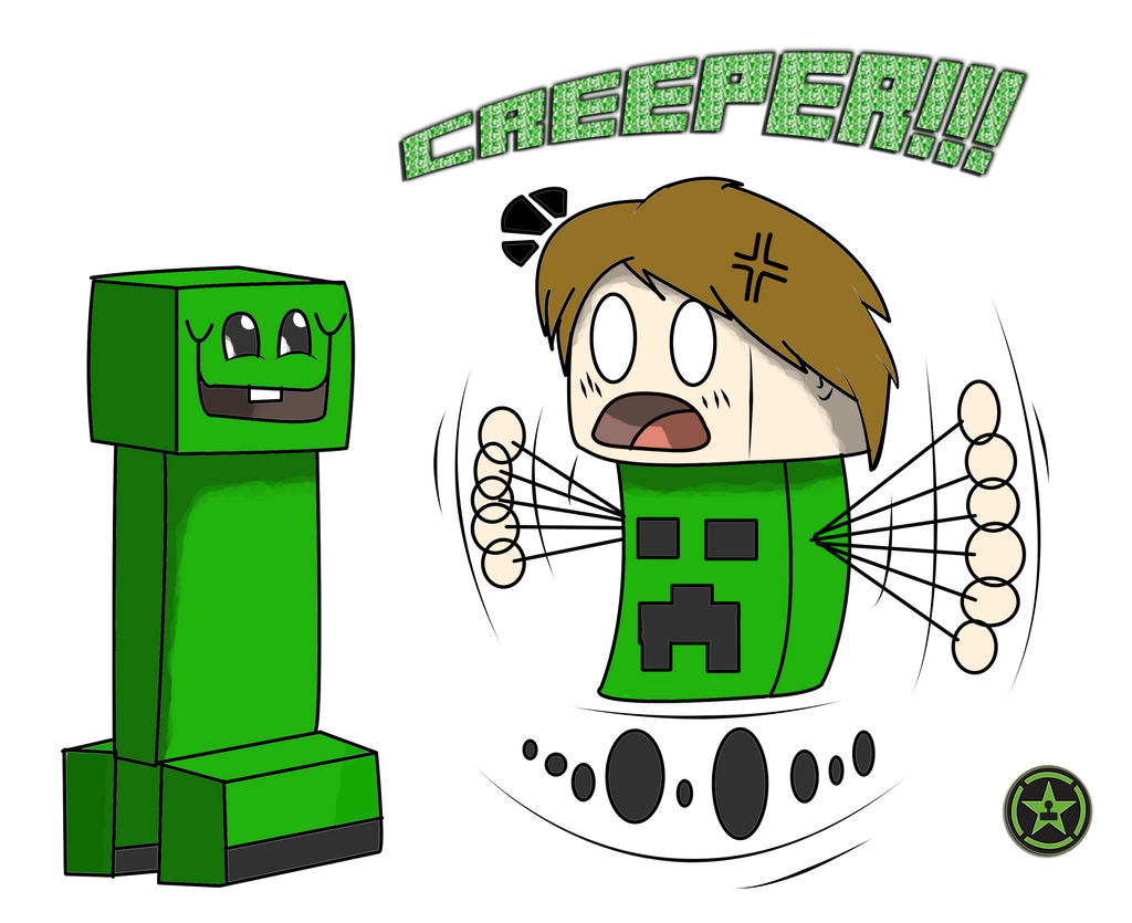 CREEPER!!! (AH fan art) by TheAngryAron on DeviantArt