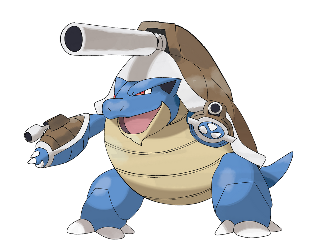 Mega blastoise by theangryaron on deviantart - Pokemon tortank mega evolution ...