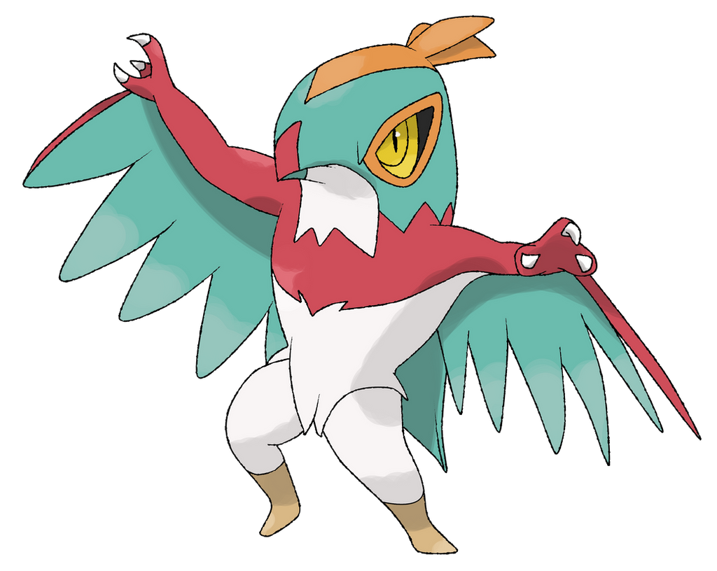 Hawlucha By TheAngryAron On DeviantArt