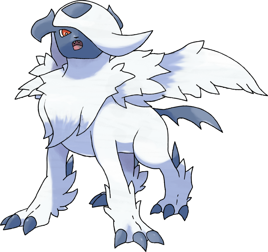 Mega Absol V2 by TheAngryAron