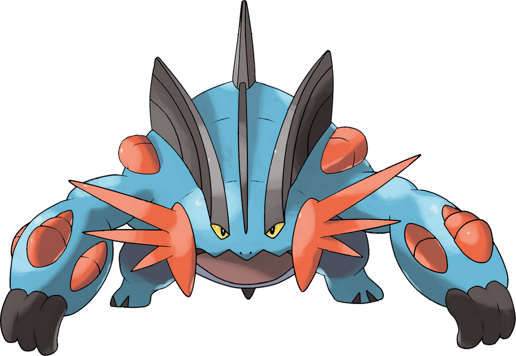 Pokemon mega swampert