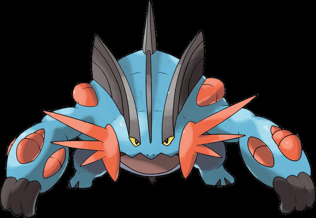 Mega swampert by theangryaron on deviantart - How to mega evolve a pokemon ...