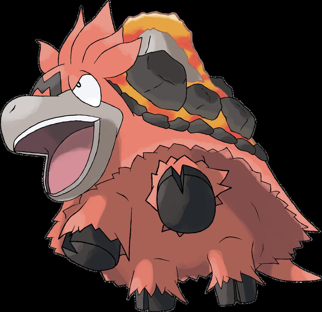 Mega camerupt by theangryaron on deviantart for Boden pokemon