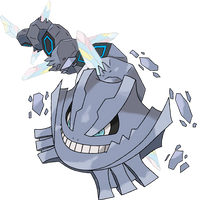 Mega Steelix by TheAngryAron