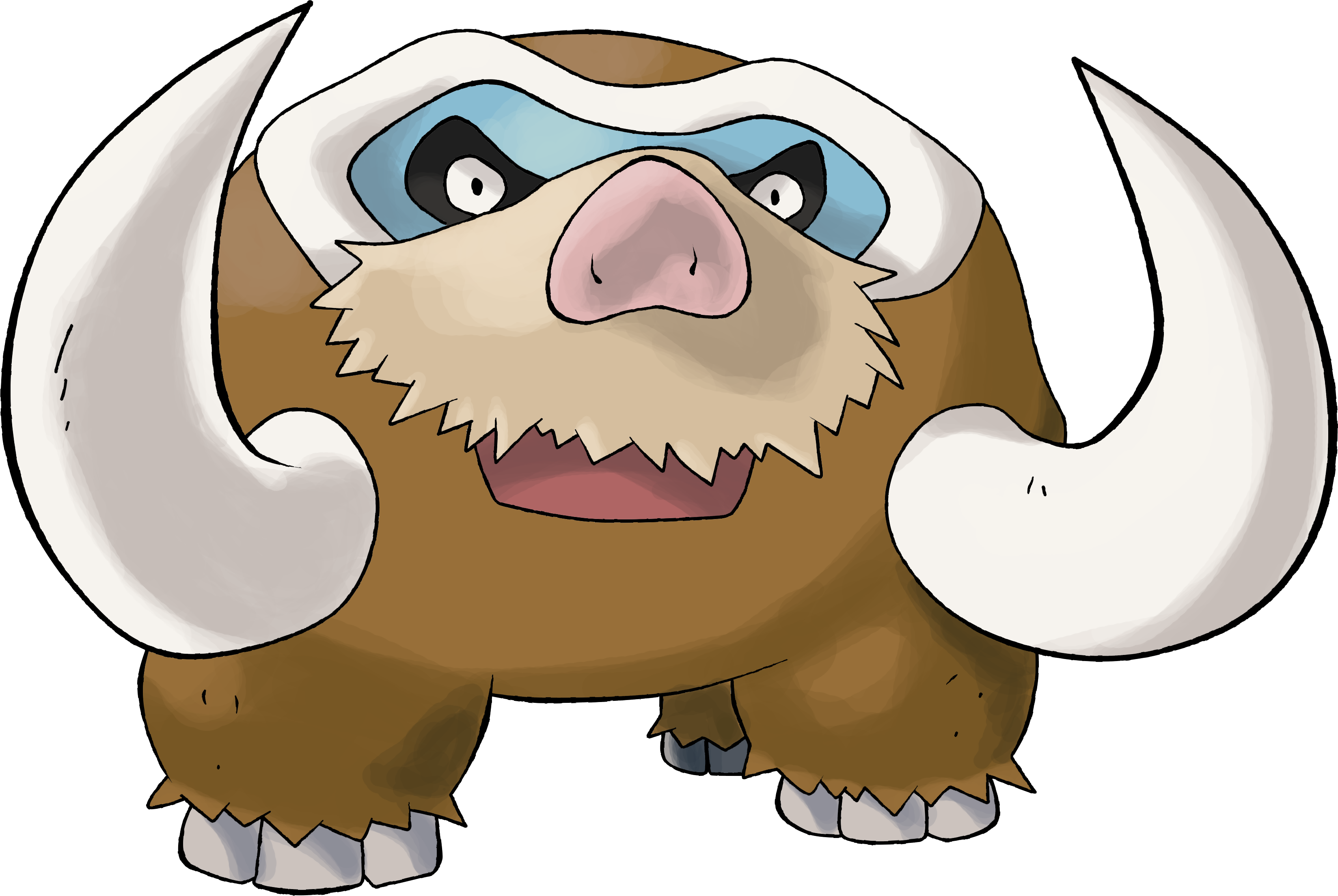Mamoswine |Day 13 by TheAngryAron on DeviantArt