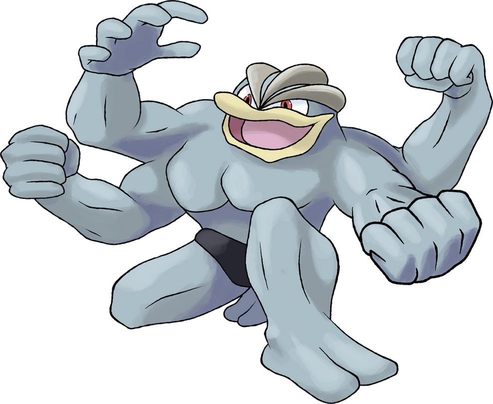 machamp day 23 by theangryaron on deviantart