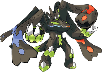 Zygarde Complete Forme |Day 31 by TheAngryAron