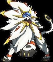 Solgaleo - Pokemon Sun Legendary by TheAngryAron