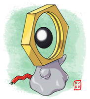 Pokemon #808 Meltan! by TheAngryAron