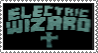 The Electric Wizard Stamp by BagelfishTrousers