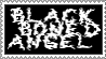 Black Boned Angel Stamp by BagelfishTrousers