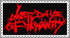Last Days Of Humanity -stamp- by WhiteBoneDemon
