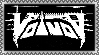 Voivod 1983-1988 logo -stamp- by BagelfishTrousers