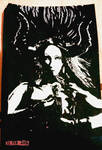 Demonic Look of Ink by WhiteBoneDemon