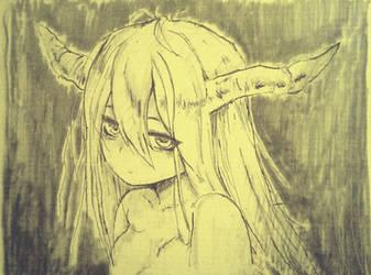Insomniac Demoness by WhiteBoneDemon