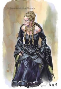 Cersei Lannister Speed Paint
