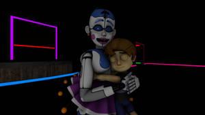Ballora loves Hugging Children!!!!