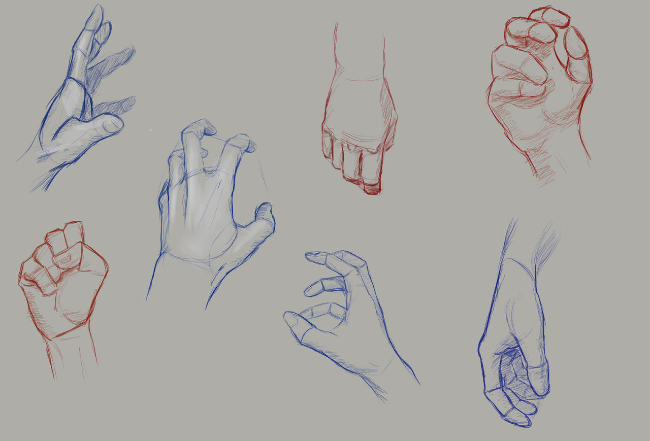Hands Practice 3 by Anevis