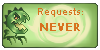 Dino requests NEVER by Bellisaurus