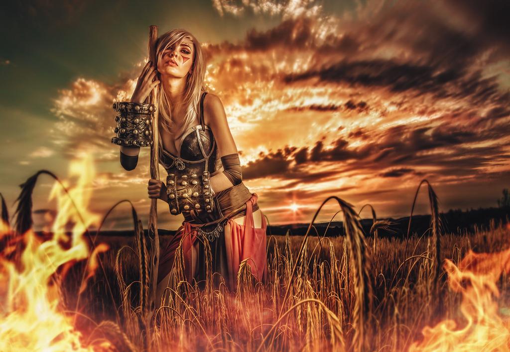 Warrior by yjoda