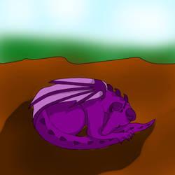 Dragon Sleeping by kaytikookie