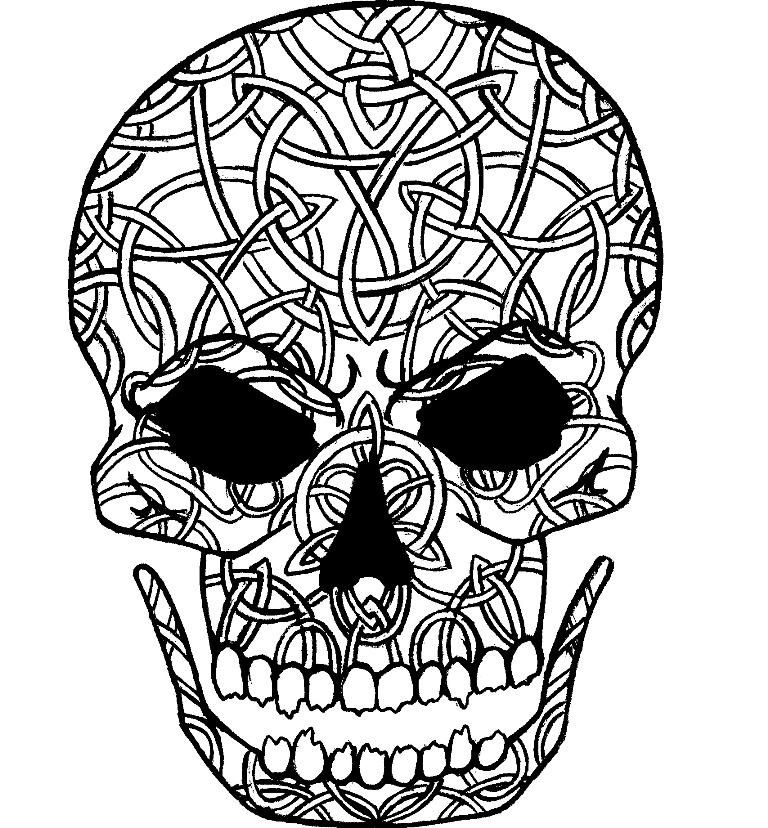 Celtic skull by mysticpool on deviantart for Celtic skull tattoo