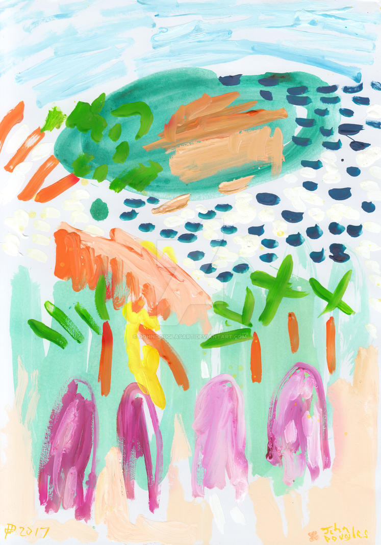 Garden Island by johndouglasart