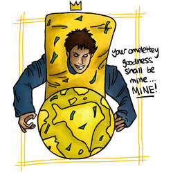 The King of Omelettes by Feev