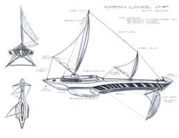 Lance _ Aquatic-Air Ship by A-Nessessary-Studio