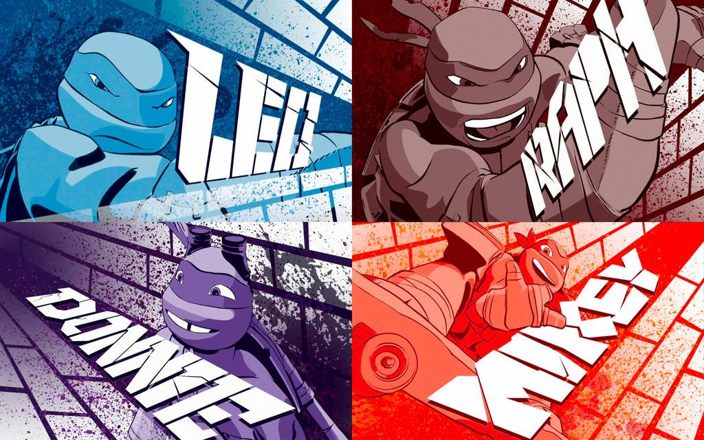 Teenage Mutant Ninja Turtles Wallpaper By MElissa910