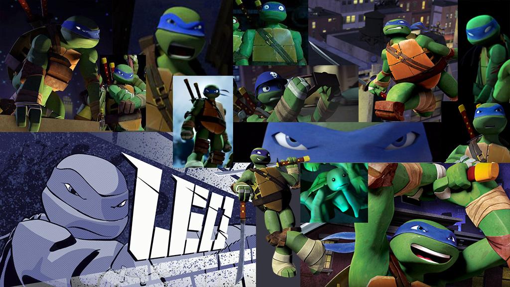 Teenage Mutant Ninja Turtles Leonardo Wallpaper By MElissa910