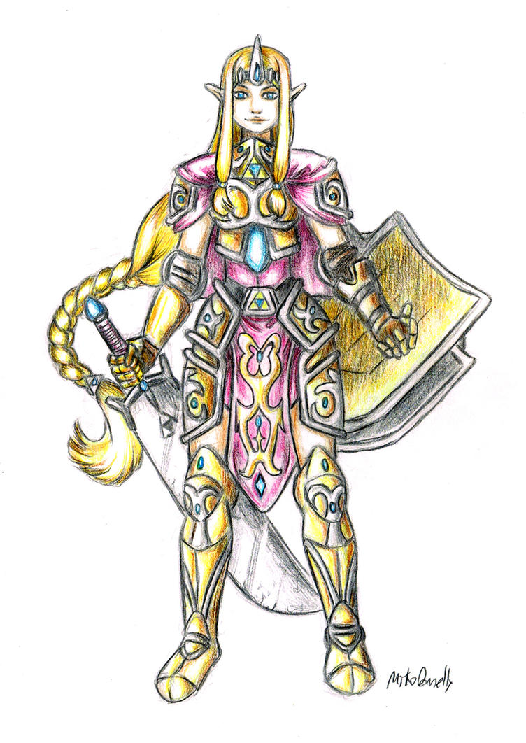 Princess Zelda by Engirish