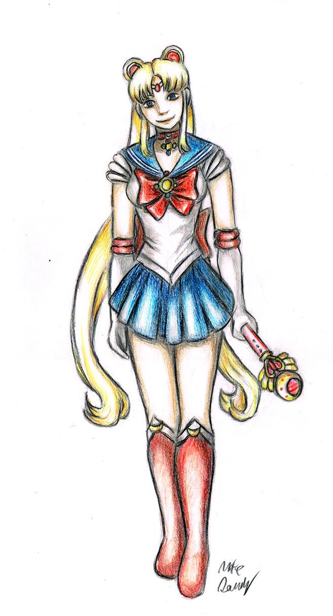 Sailor moon by Engirish
