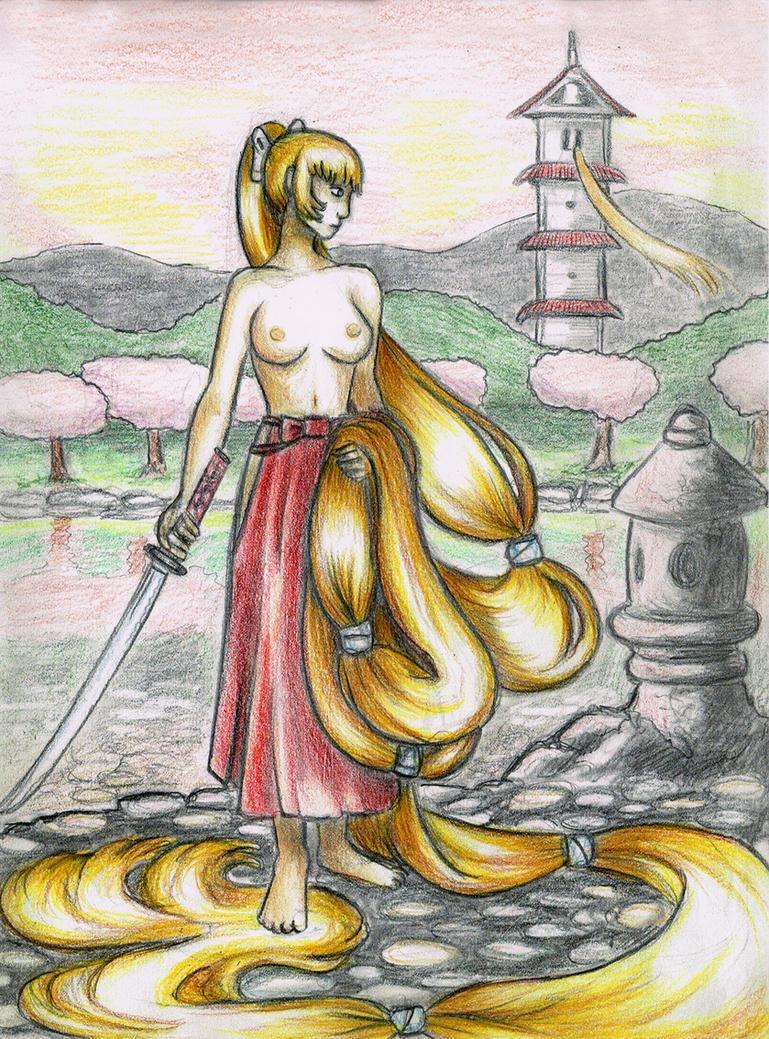 Samurai Rapunzel by Engirish