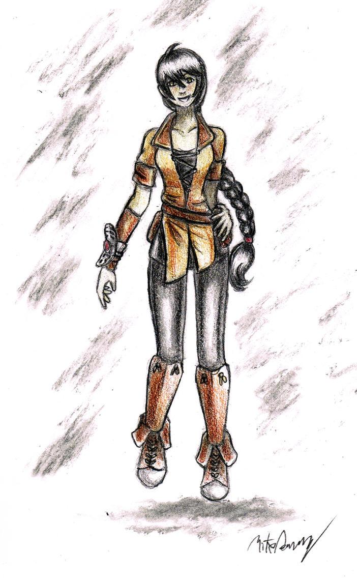 Young Velvet Crowe by Engirish
