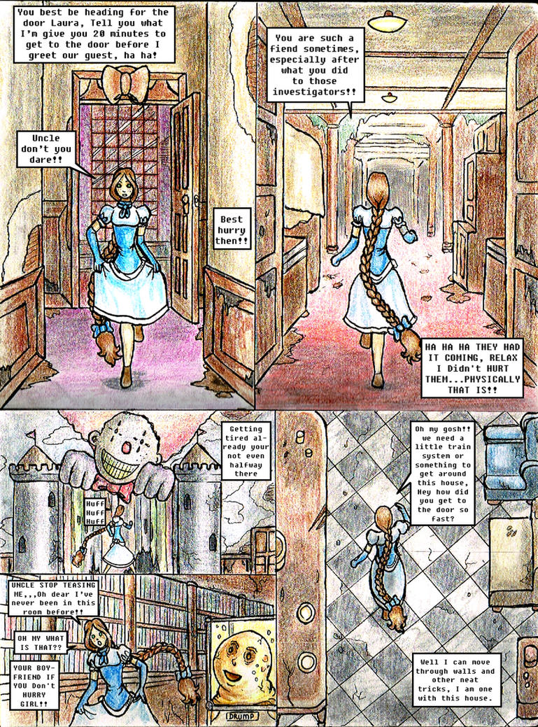 Page 2 race for the door by Engirish