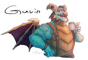 Barista Gavin!!! by kaboomduck