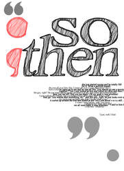 'So then...' by Bellatree